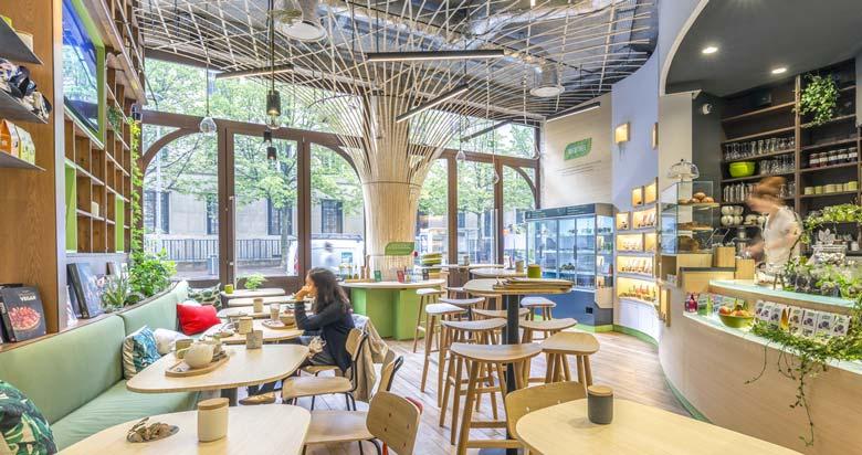 Aménagement Du0027un Coffee Shop Par Un Architecte Du0027intérieur Dans Le Cadre D