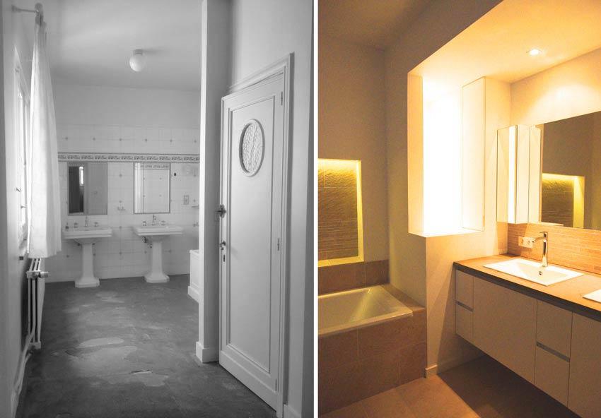r novation d 39 une villa de 8 pi ces photos avant apr s. Black Bedroom Furniture Sets. Home Design Ideas