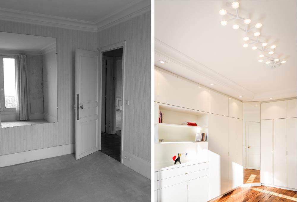 r novation d 39 un appartement 3 pi ces par un architecte d 39 int rieur montpellier. Black Bedroom Furniture Sets. Home Design Ideas