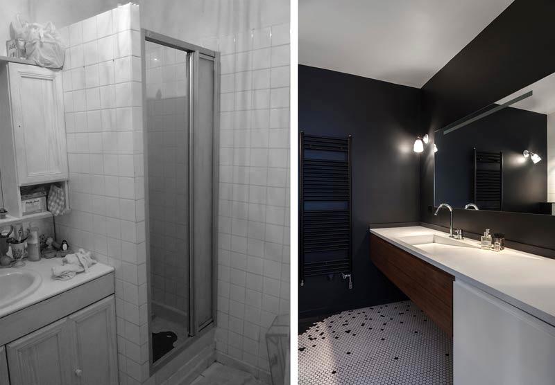 r novation d 39 une appartement 3 pi ces par un architecte d. Black Bedroom Furniture Sets. Home Design Ideas