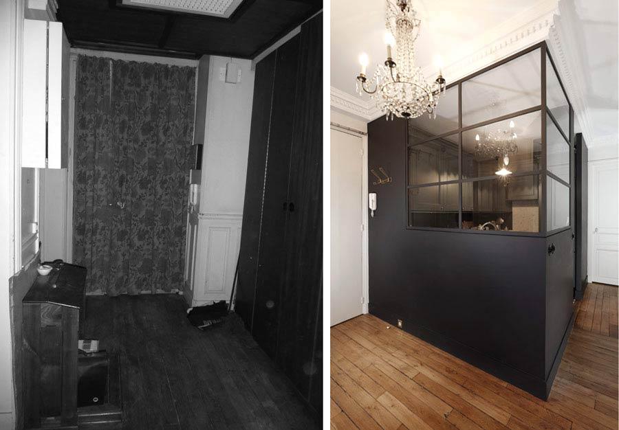 Rénovation d'un appartement par un architecte d'intérieur rregion