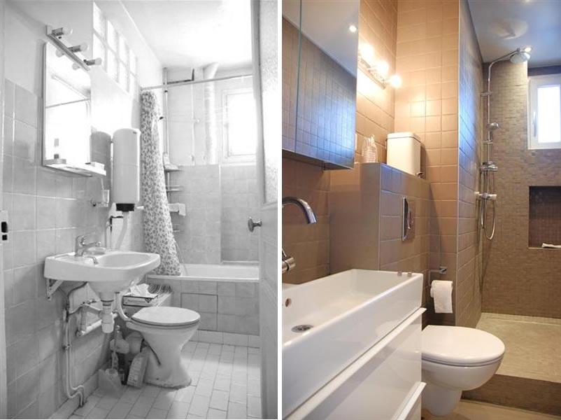 r novation compl te d 39 un appartement 3 pi ces 60m2 photos avant apr s. Black Bedroom Furniture Sets. Home Design Ideas