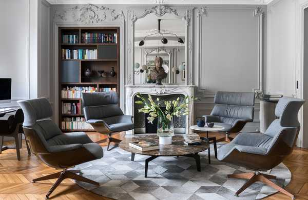Transformation of a Haussmannian apartment