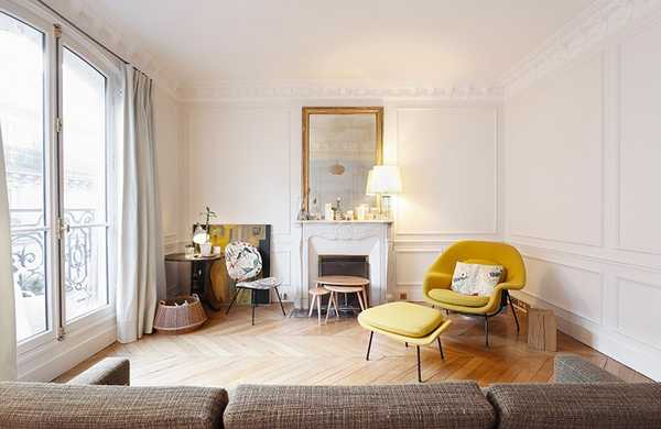 Makeover of a Haussmannian apartment 90m²