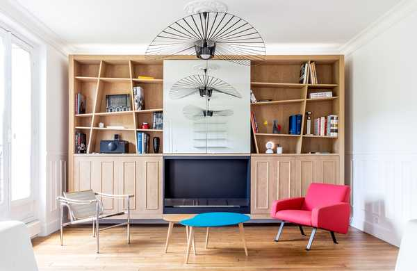 Modernize a Haussmannian apartment of 63m²
